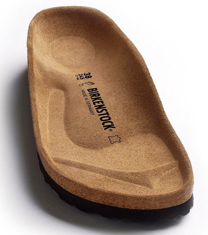 The original Birkenstock contoured footbed