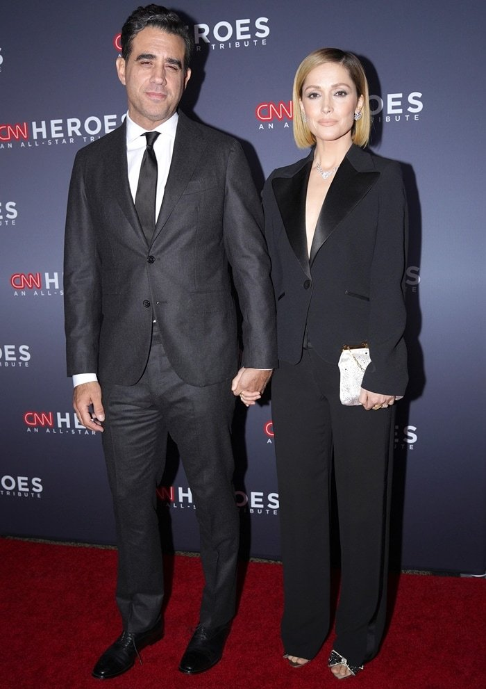 Bobby Cannavale and his girlfriend Rose Byrne attend the 13th Annual CNN Heroes Gala