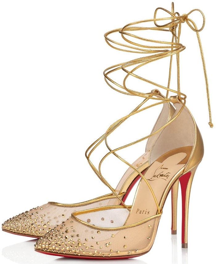 Christian Louboutin's Maia Labella is a bold testament to the designer's undying obsession with transparency and beauty
