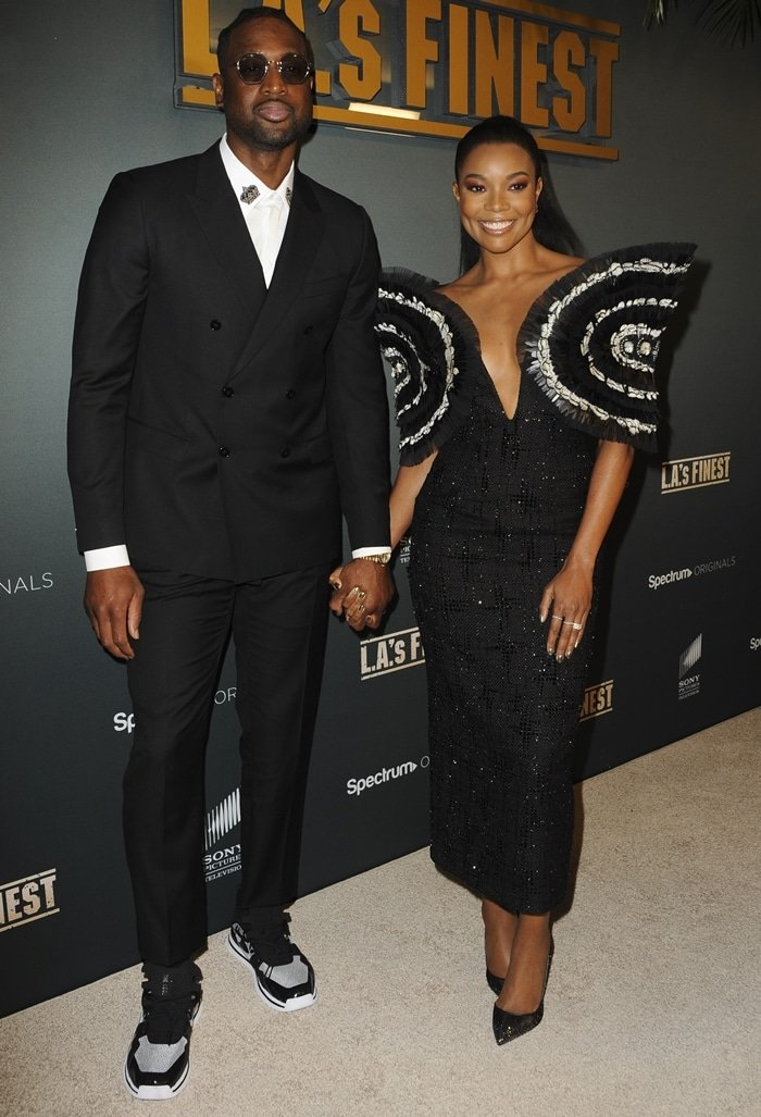Dwyane Wade has an estimated net worth $120 million and his wife Gabrielle Union is worth around $20 million