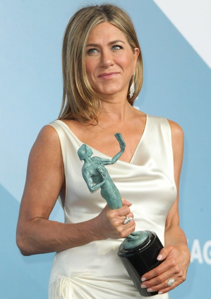 Jennifer Aniston was nominated for her role as Alex Levy in The Morning Show