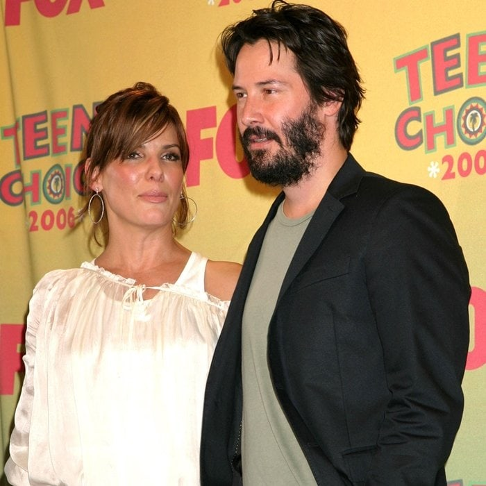 Keanu Reeves had a crush on Speed castmate Sandra Bullock — and the feeling was mutual