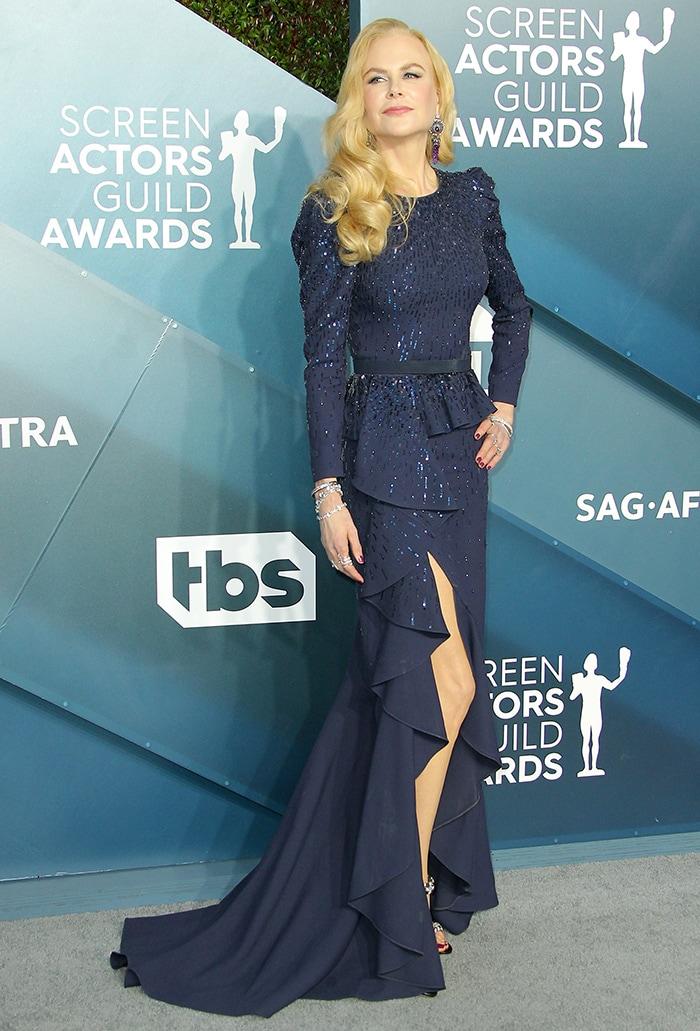 Nicole Kidman failed to win an award at the 2020 SAG awards on January 19, 2020