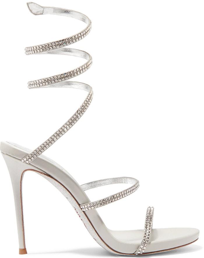 Rene Caovilla 'Cleo' Crystal-Embellished Sandals