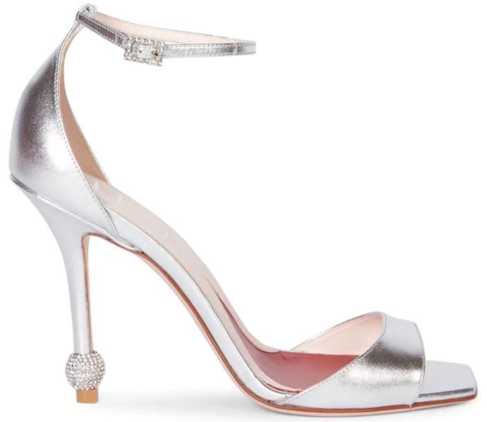 Roger Vivier 'I Love Vivier' Embellished Heel Sandals