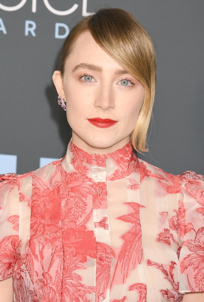 Saoirse Ronan's Irish name is pronounced Sur-sha and means freedom