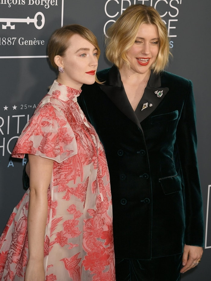 Saoirse Ronan believes Greta Gerwig should have been nominated for Best Director for Little Women
