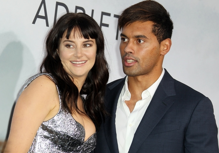 Ben Volavola joined his girlfriend Shailene Woodley at the premiere of her new movie