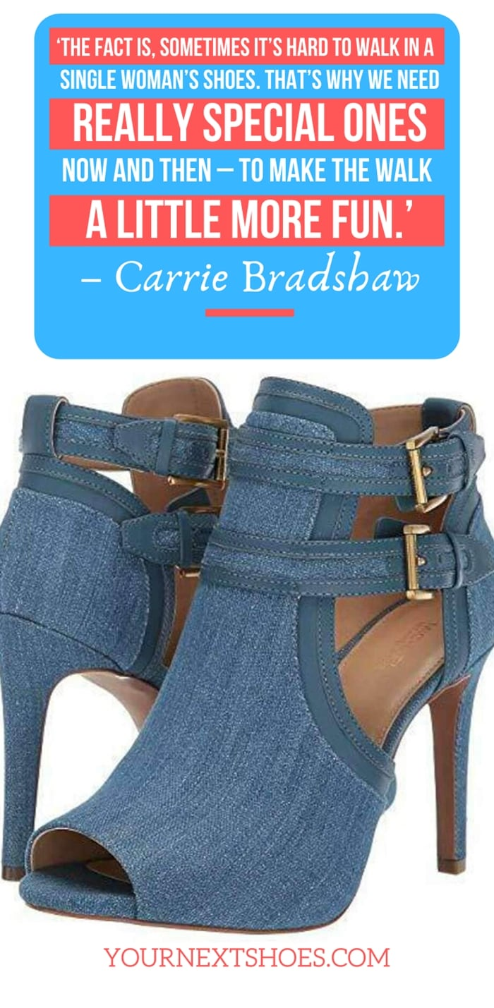 'The fact is, sometimes it's hard to walk in a single woman's shoes. That's why we need really special ones now and then – to make the walk a little more fun.' – Carrie Bradshaw