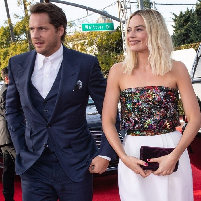 Tom Ackerley first met his future wife Margot Robbie on the set of Suite Française