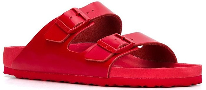 Valentino x Birkenstock slide on sandals