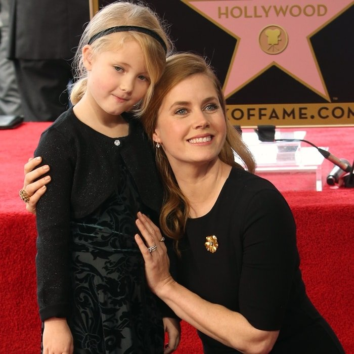 Amy Adams with her daughter Aviana Olea Le Gallo