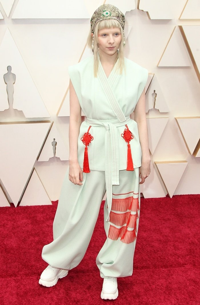 Aurora attends the 92nd Annual Academy Awards