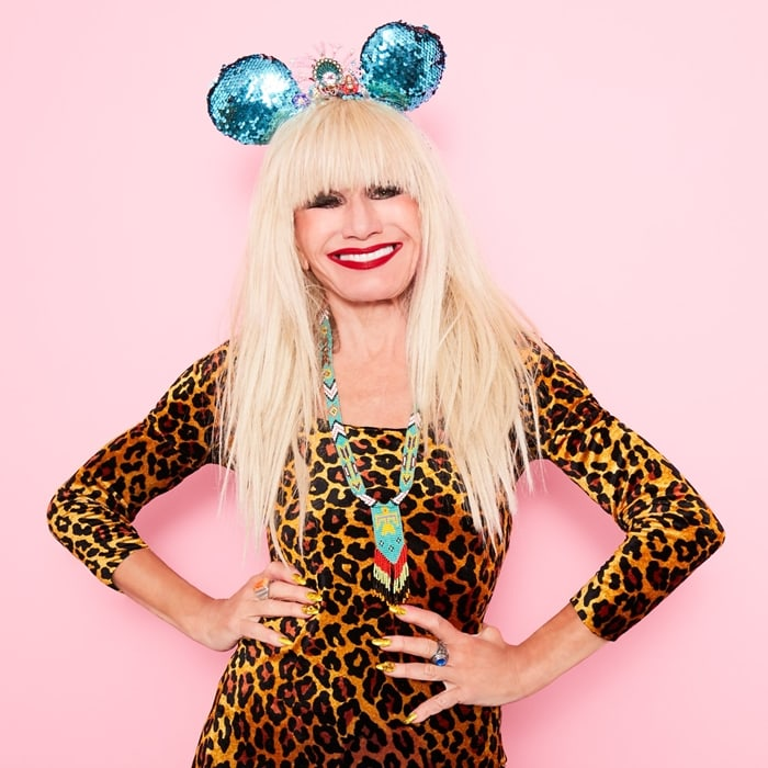 Betsey Johnson's reversible sequin Minnie Mouse ears inspired by Disney's The Little Mermaid