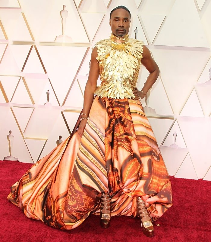 Billy Porter rocked the red carpet at the 2020 Academy Awards