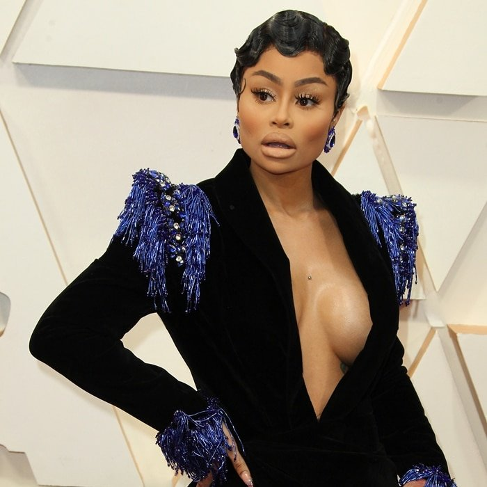 Everyone was surprised to see Blac Chyna at the 2020 Academy Awards