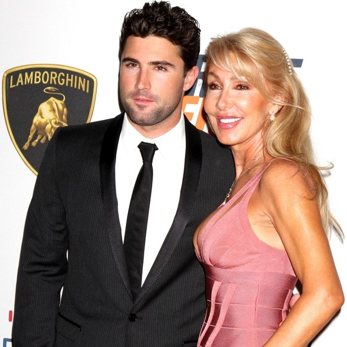 Brody Jenner and mom Linda Thompson arrive at the 17th Annual Race to Erase MS event