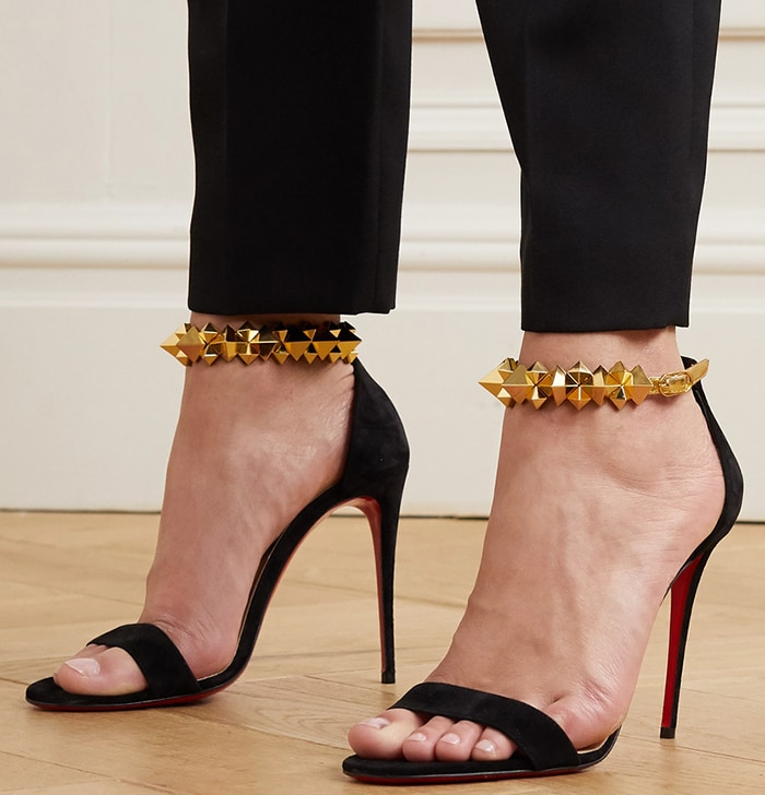Christian Louboutin's 'Planetava' sandals will look so chic worn with an LBD to your next event