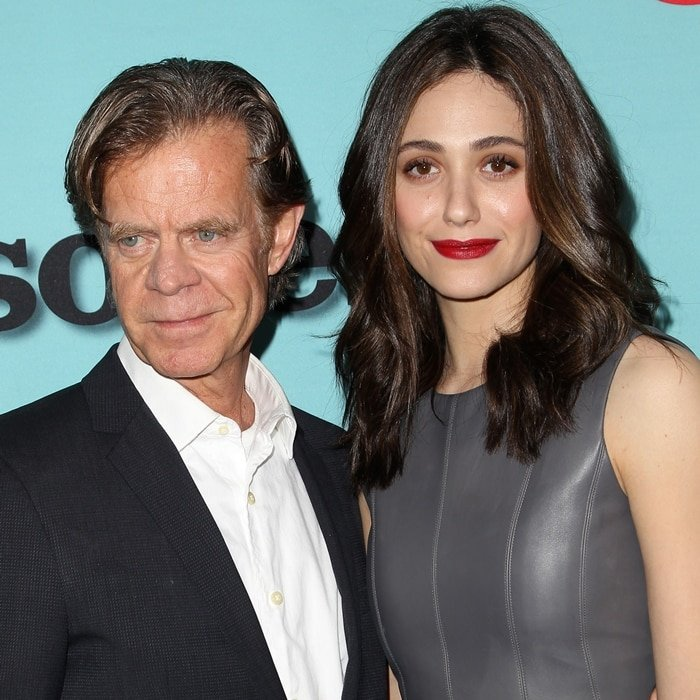 Emmy Rossum was paid more for Shameless than her male co-star William H. Macy, who has a net worth of $45 million