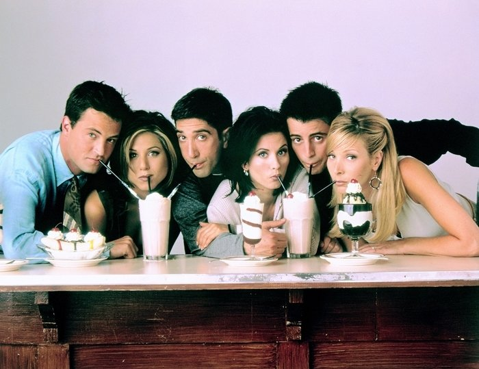Friends, an American sitcom television series, created by David Crane and Marta Kauffman, aired on NBC from September 22, 1994, to May 6, 2004, lasting ten seasons