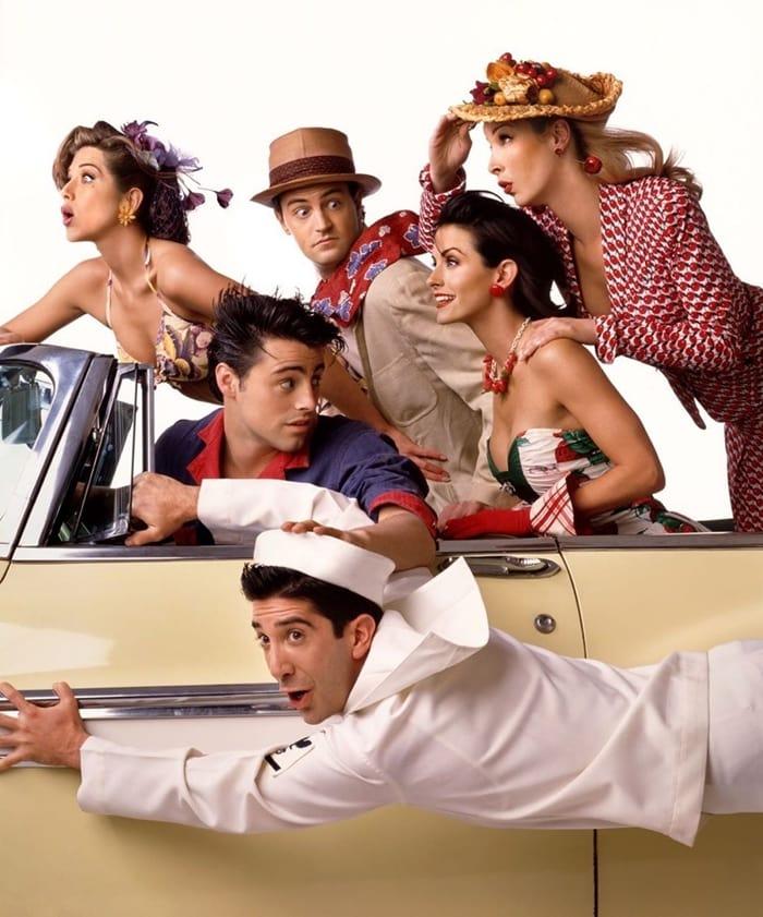 Jennifer Aniston, Courteney Cox, Lisa Kudrow, Matt LeBlanc, Matthew Perry, and David Schwimmer will reunite for the unscripted Friends special