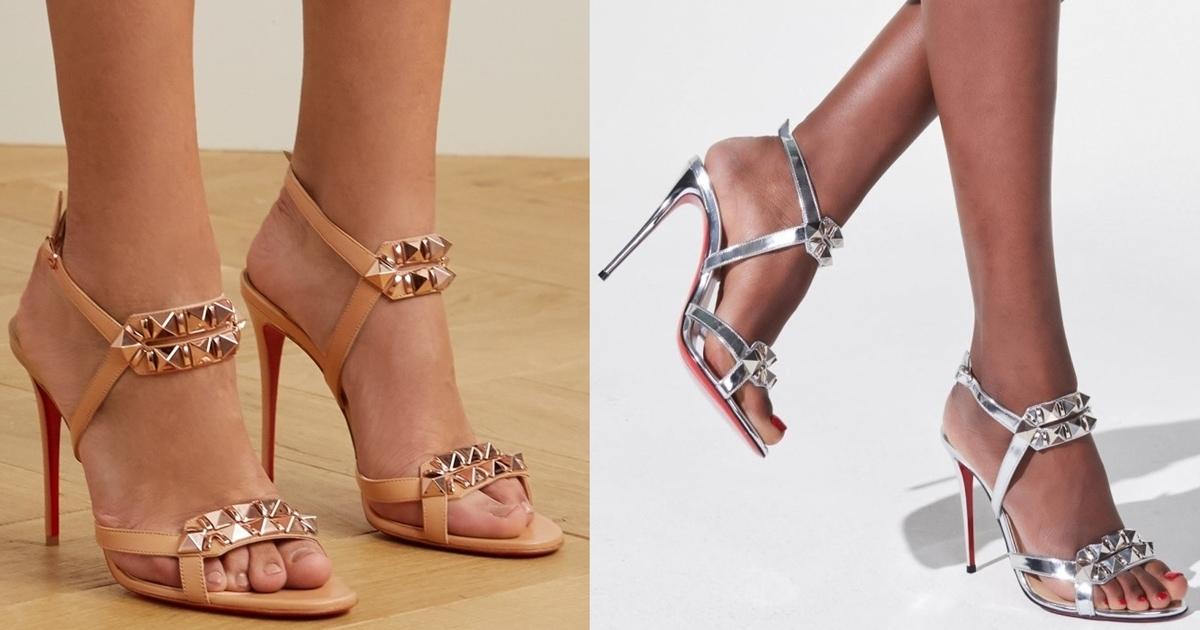 Summer Shoes Women White Open Toe Button Belt Thick Heel