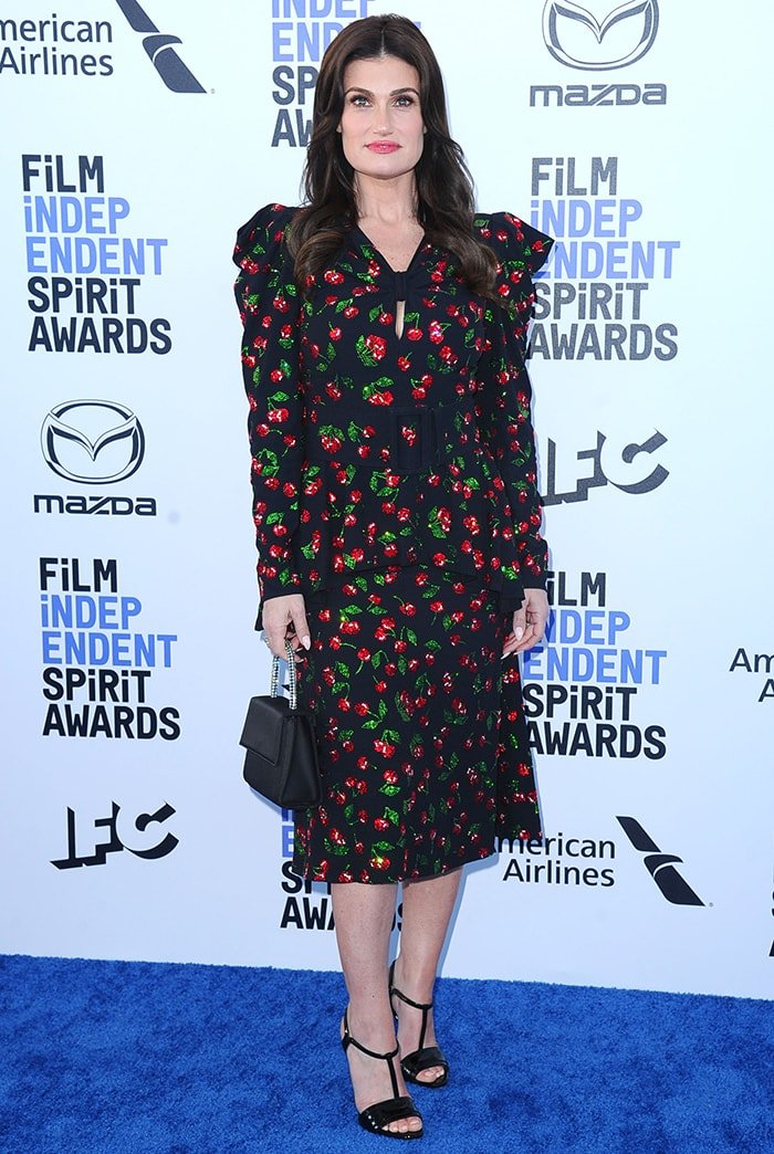 Idina Menzel in Michael Kors at the 2020 Film Independent Spirit Awards in Santa Monica on February 8, 2020