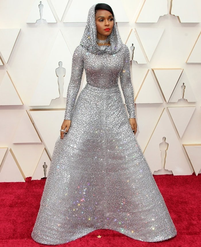 Janelle Monae in Ralph Lauren at the 2020 Academy Awards