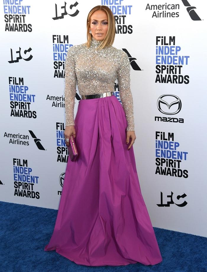 Jennifer Lopez rocked a fabulous Valentino Pre-Fall 2020 look