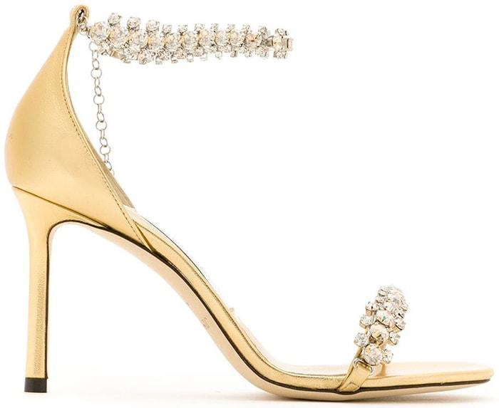 Jimmy Choo Shiloh 85 Sandals