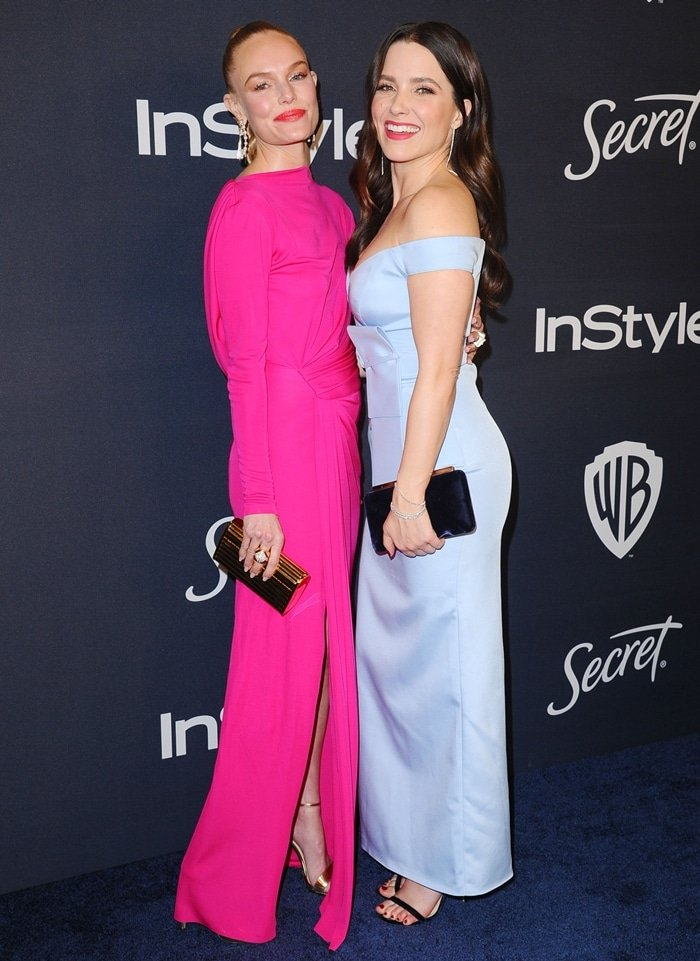 Kate Bosworth and Sophia Bush attend the 21st Annual Warner Bros. And InStyle Golden Globe After Party