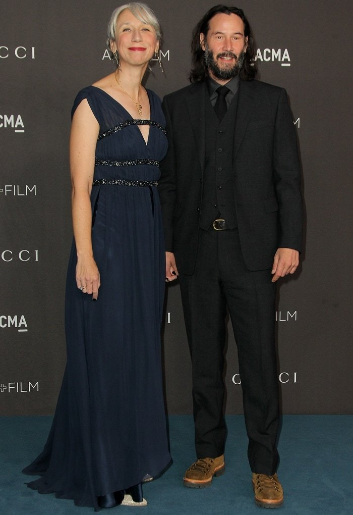 Keanu Reeves and American visual artist Alexandra Grant have dated for several years