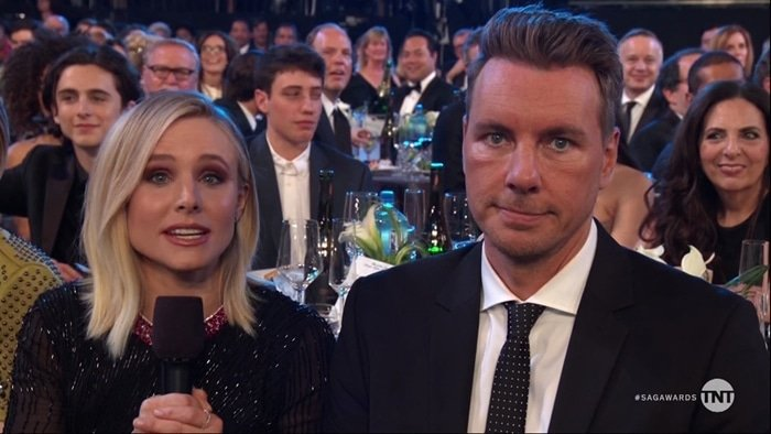 Dax Shepard sexted Kristen Bell's mother with eggplant emojis