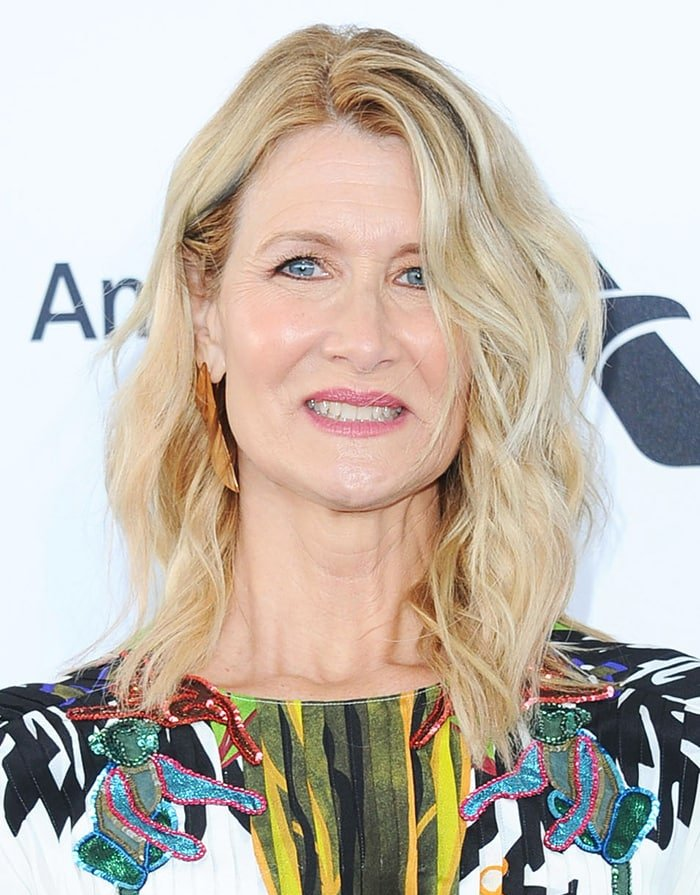 Laura Dern all smiles at the 35th Independent Film Awards in Santa Monica on February 8, 2020