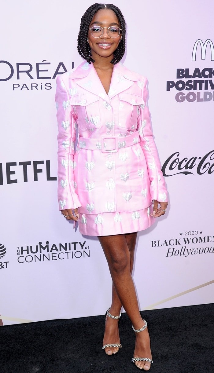 Marsai Martin attends the 13th Annual Essence Black Women In Hollywood Awards Luncheon