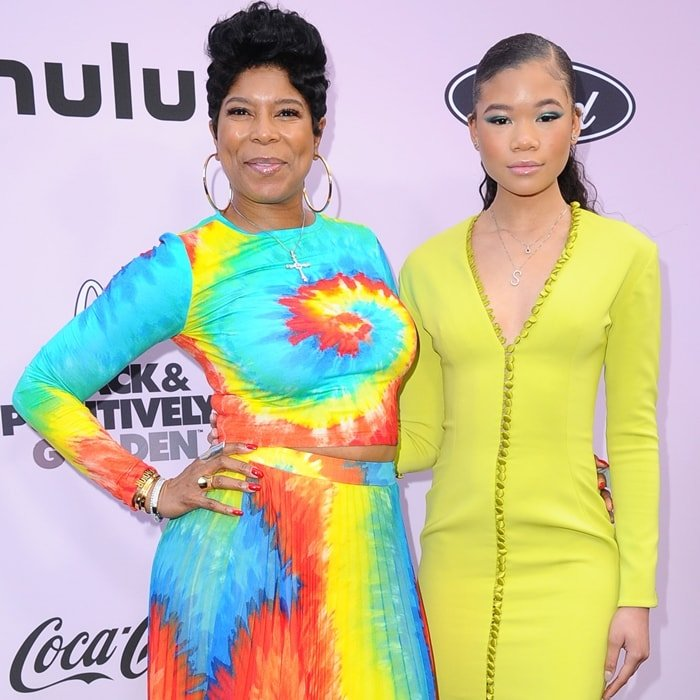 Robyn Simpson and her daughter Storm Reid attend the 2020 13th Annual ESSENCE Black Women in Hollywood Luncheon