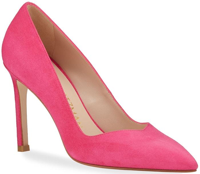 Stuart Weitzman Anny Pumps in Pink