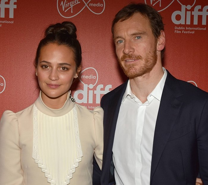 Alicia Vikander and Michael Fassbender steps out on the red carpet for the first time in three years