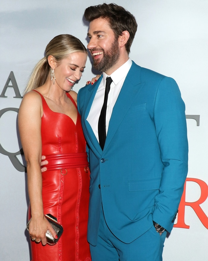 John Krasinski says his wife Emily Blunt is the most tremendous actress of our time