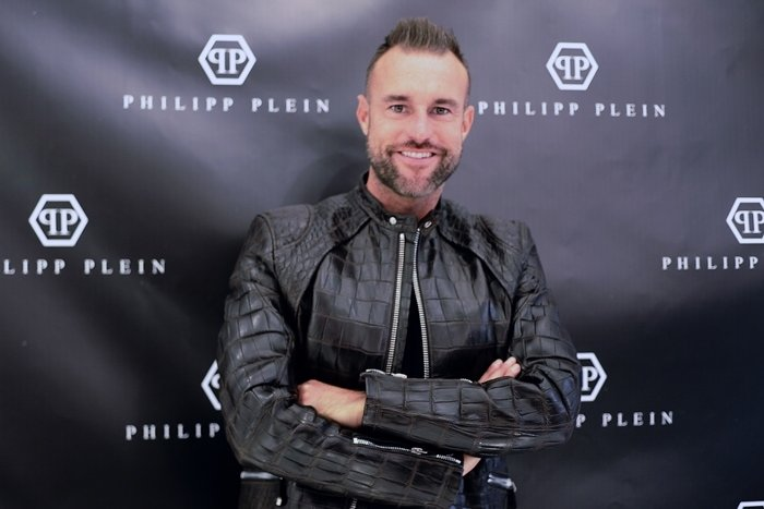 German designer Philipp Plein opens his boutique in Madrid on December 22, 2018