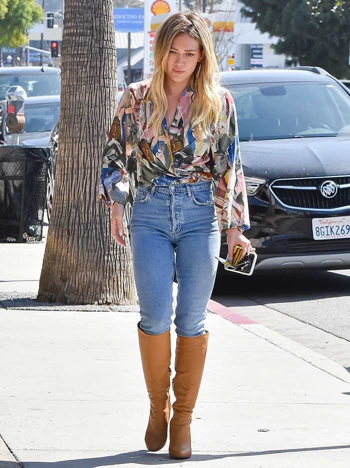 Hilary Duff out and about in Studio City on March 4, 2020