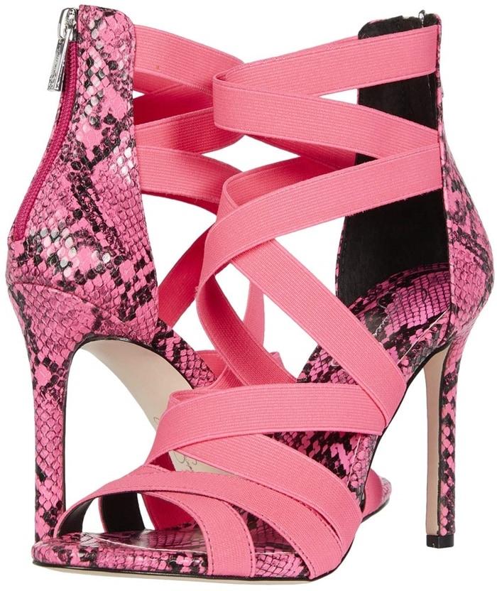 Jessica Simpson's Jyra strappy elastic dress sandals