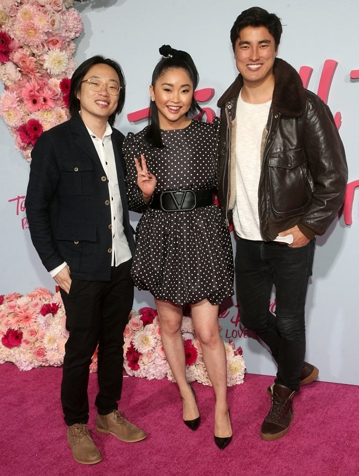 "Jimmy O. Yang, Lana Condor, and guest attend the Premiere Of Netflix's ""To All The Boys: P.S. I Still Love You"""