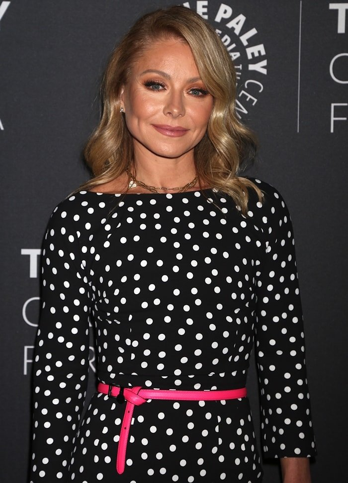 Kelly Ripa suffered from a serious medical condition called Botox deficiency
