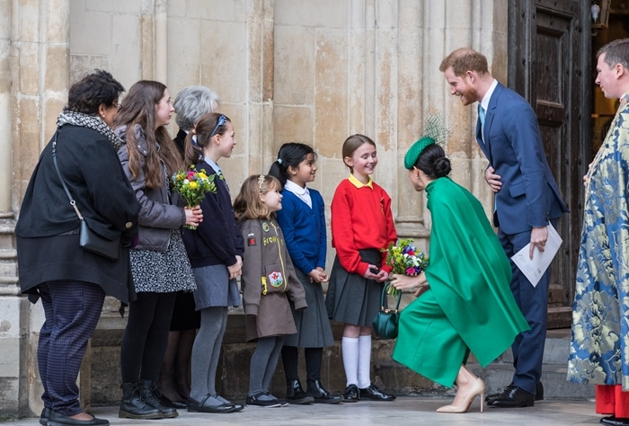 Meghan, Duchess of Sussex and Prince Harry, Duke of Sussex attend the Commonwealth Day Service 2020