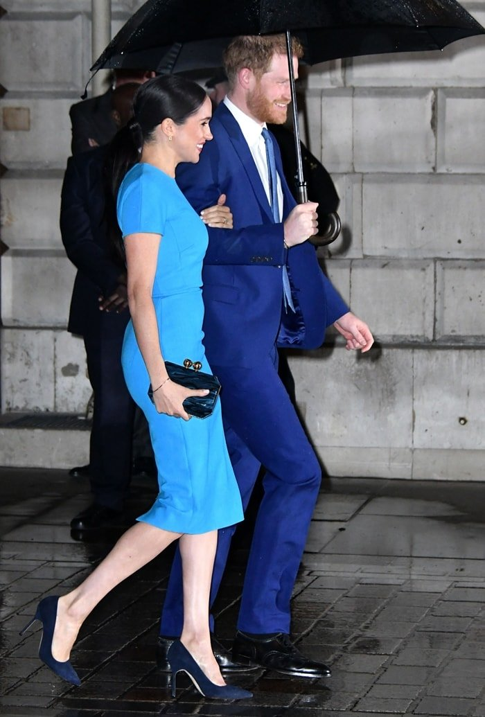 Prince Harry, Duke of Sussex and Meghan, Duchess of Sussex attend The Endeavour Fund Awards