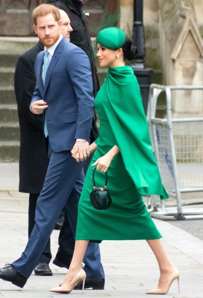 Meghan Markle's classic neutral pumps will go with everything