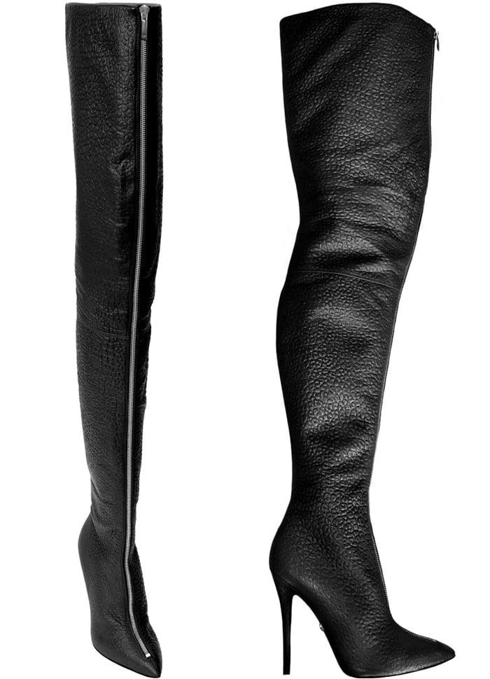 Monika Chiang Blair Leather Thigh Boots