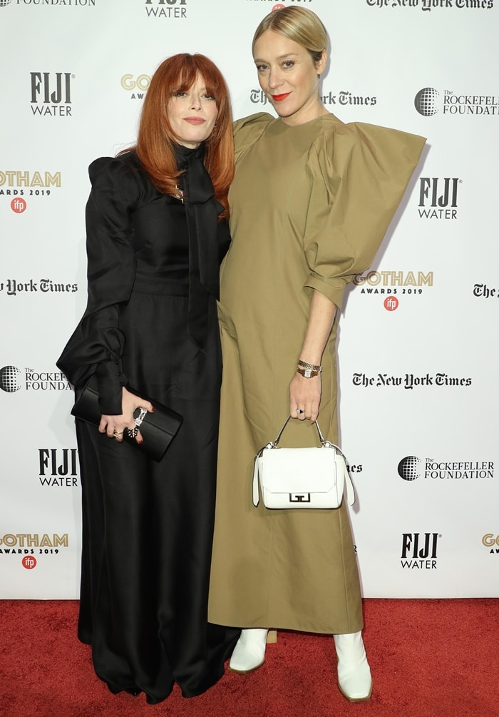 Natasha Lyonne and Chloe Sevigny attend 2019 IFP Gotham Awards