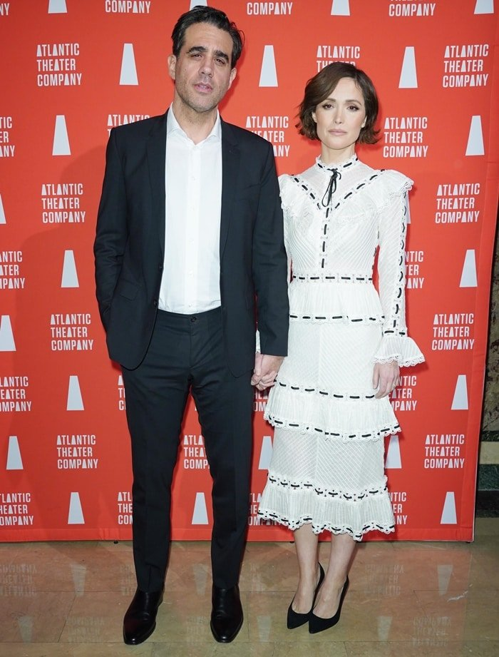 Rose Byrne and her partner Bobby Cannavale attend the Atlantic Theater Company's Couples' Choice Gala